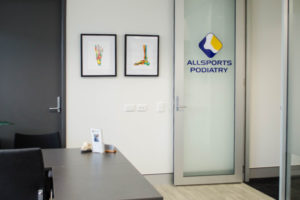 Allsports Podiatry Indooroopilly Clinic